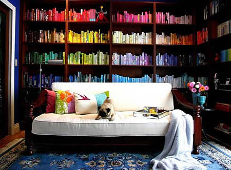 How To Decorate With Books living with books | literary relish