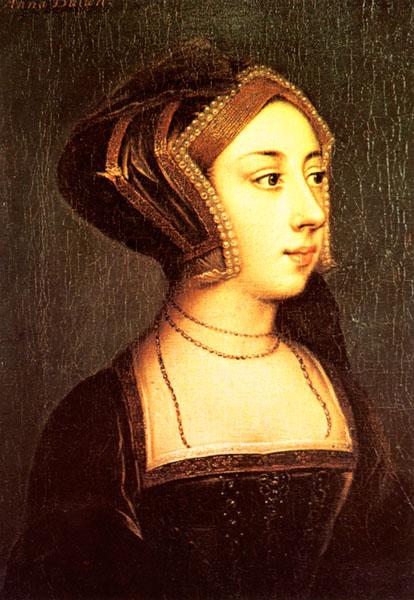 Anne Boleyn....what a cow.